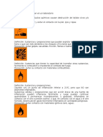 Símbolos Que Se Utilizan en Un Laboratorio PRIMEROS AUXILIOS Y ADN