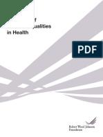 RWJF LaVeist State of Racial Inequities in Health