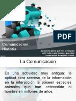 Historia dela comunicación
