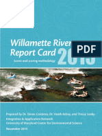 Willamette River Report Card