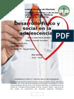 Desarrollo Física y Social en La Adolescencia 02 Junio
