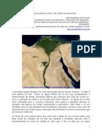 O naufrágio do delta do Nilo e da cidade de Alexandria