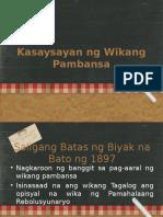 Kasaysayan ng Wikang Filipino.ppt