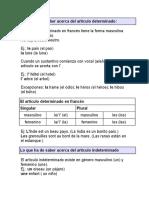 Gramatica a Frances