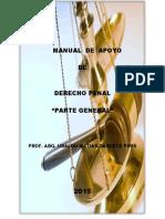 Manual de Apoyo de Derecho Penal - Parte General