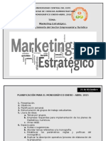 Marketing Estrat+®gico para el Sector Empresarial y Tur+¡stico
