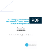 The Changing Theatre Landscape