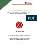 Proyecto de Electrififacion Pdvsa