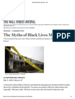 The Myths of Black Lives Matter-Mac Donald