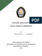 Tugas Legal Ethic b. Inggris