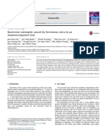 Bacteremic Meningitis Caused by Parvimonas Micra in an Immunocompetent Host