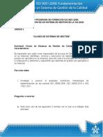 Actividad de Aprendizaje Unidadsd 2 Clases de Sistemas de Gestion