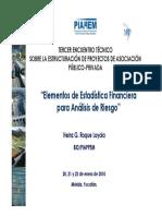 08Elementos de Estadística Financiera Para Análisis de Riesgos_Heinz Roque