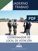Coordinador Del Local de Votacion AV
