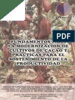 Modernizacion de Cultivos de Cacao