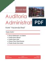 Auditoria Hotel Hacienda Real