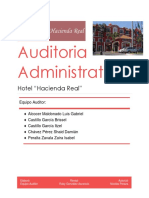 Auditoria Hotel Hacienda Real