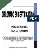Auditoria Tema 12.5