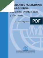 Cuadernos Migratorios 4 - Migrantes Paraguayos en Argentina