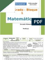 Plan 2do Grado - Bloque 1 Matemáticas.doc