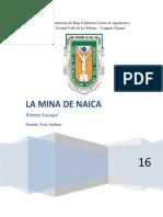 Ensayo La Mina de Naica
