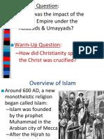 The Islamic Empire