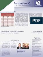Informativo IQ - Agosto e Setembro 2014