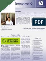 Informativo IQ - Janeiro e Fevereiro 2015