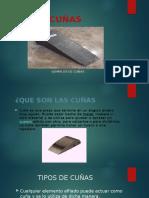 Ejemplos de Cuñas