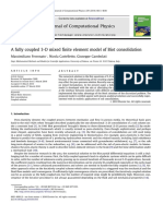 A Fully Coupled 3-D Mixed Finite Element Model of Biot Consolidation
