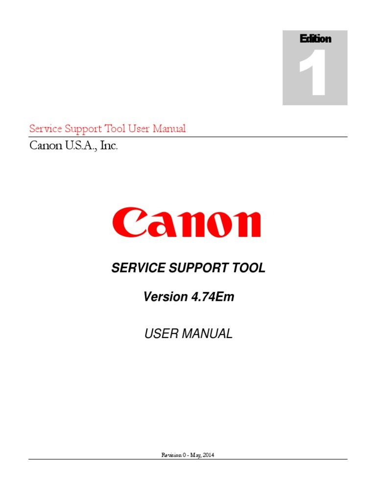 Service Support Tool v4.74Em Rev.0 User Manual | Usb Flash Drive |  Installation (Computer Programs)