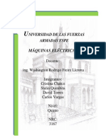 Generador en Derivacion de CD Con Autoexcitacion