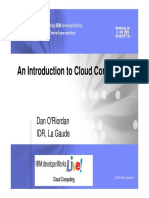 18th March Virtual Event- Cloud Introduction Presentation