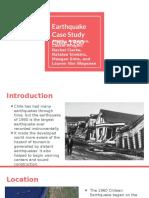 Earthquake Case Study 4- Chile 1960