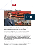 Colombia Empobrecida - Revista Semana