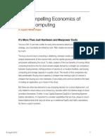 Compelling Economics Cloud Computing