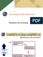 Modelos de Entrada Al Mercado Internacional