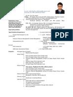 Resume Engineer Basic Md. Sharifur Rahman