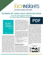 Reforming Sri Lanka's Social Protection System