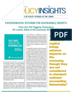 Environmental Reforms for Sustainable Growth