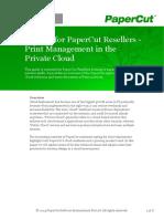 Papercut Private Cloud Whitepaper v1.3