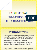 Industrial Relations and the Constitution (1)