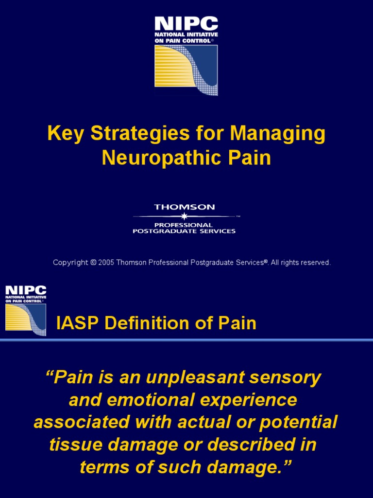 neuropathic pain slides | peripheral neuropathy | pain