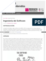 Antecedentes ingenieria de software