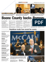 Boone County Backs Romney