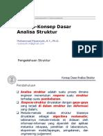 M01-Konsep-konsep Dasar Analisa Struktur