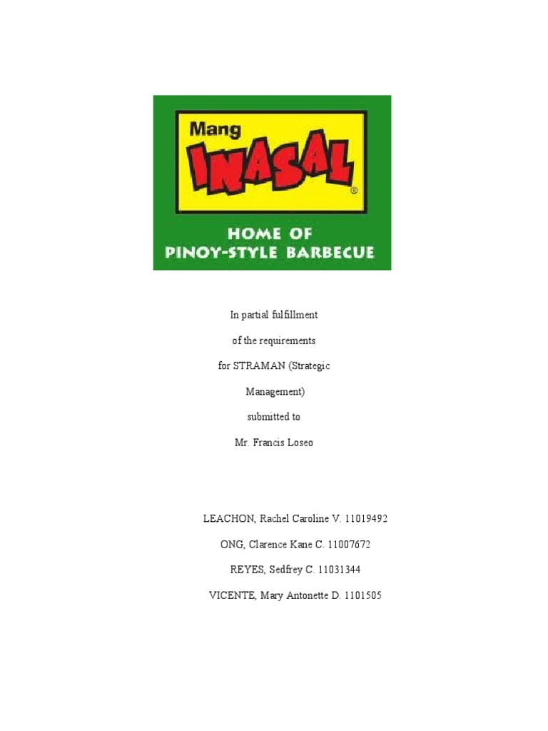 Mang inasal 2pdf foodservice revenue yadclub Image collections