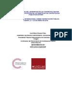 Novedades del Anteproyecto Ley Contratos Sector Público. La transposición de las directivas de contratación pública en España.