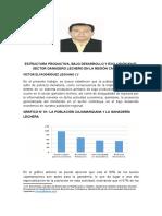 ESTRUCTURA PRODUCTIVA Y EXCLUSIÓN EN EL SECTOR LECHERO DE CAJAMARCA