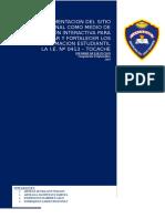 Informe de Implementacion de Sitio Web en I.E. 013